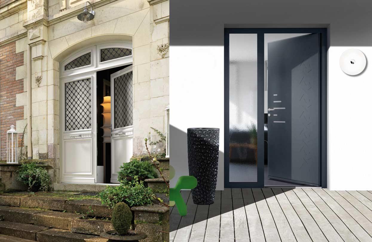 Nouvelle collection de portes d 39 entr e chez arcades baies l 39 echo de la baie - La blanche porte nouvelle collection ...