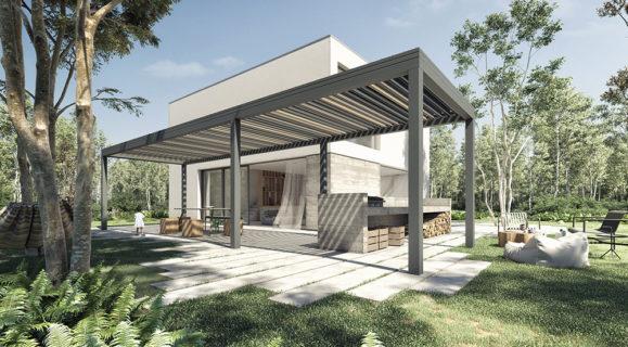 Profils Systèmes Pergola Wallis&Outdoor® design by Dank Architectes