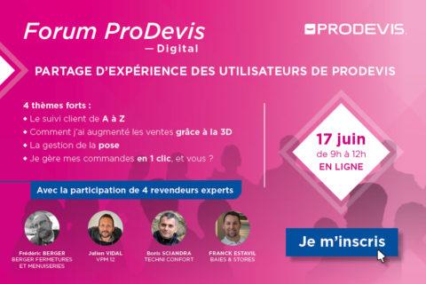 forum prodevis